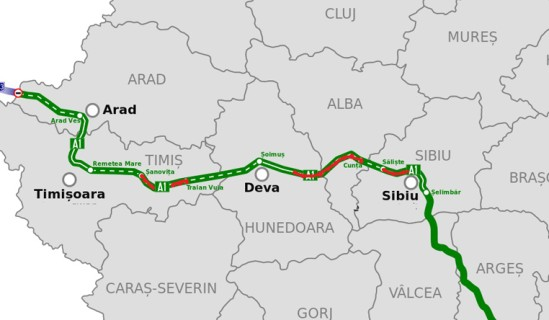 Autostrada A1 Sibiu Nădlac 60 27 Km Deschiși Circulației